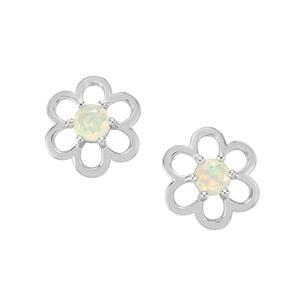 Ethiopian Opal Earrings in Sterling Silver 0.62ct