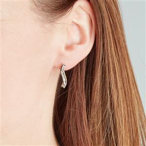 Diamond Earrings in 10k Gold 0.33ct