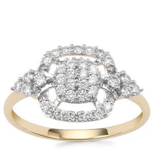 Argyle Diamond Ring in 10K Gold 0.50ct