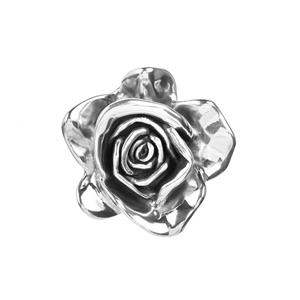 Rose Pendant in Sterling Silver 12.47g