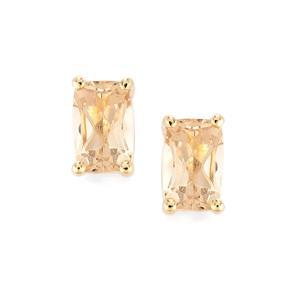 1.05ct Serenite 10K Gold Earrings