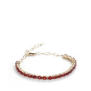 Winza Ruby Bracelet in 10k Gold 5.38cts