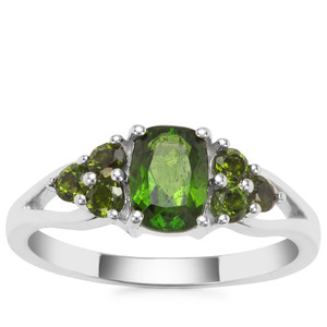 Chrome Diopside Ring in Sterling Silver 1.27cts