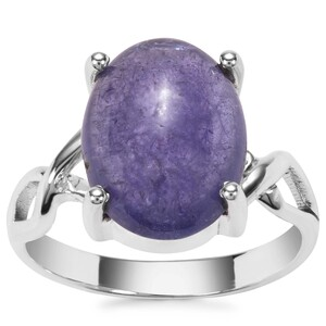 Tanzanite Ring in Sterling Silver 7.80cts