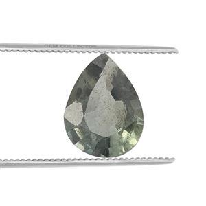 Nigerian Green Sapphire Loose stone  0.13ct