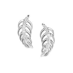 Ratanakiri Zircon Earrings in Sterling Silver 0.08ct