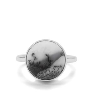 Dendrite Ring in Sterling Silver 6.51cts