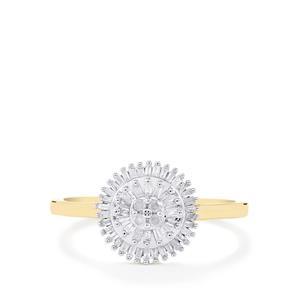 1/4ct Diamond 10K Gold Ring