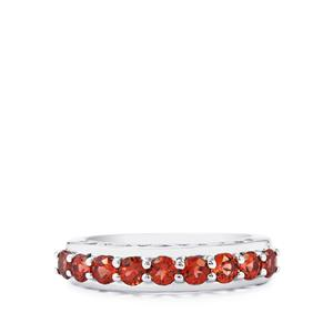 Nampula Garnet Ring in Sterling Silver 1.30cts