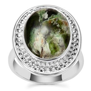 Opal Chalcedony Ring in Sterling Silver 6.50cts