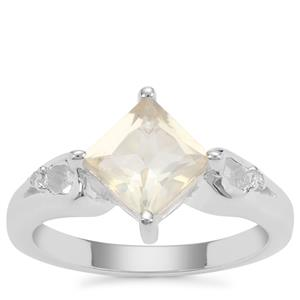Serenite Ring with Diamond in Sterling Silver 1.55cts