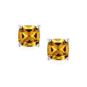 2.58ct Xia Heliodor Sterling Silver Earrings