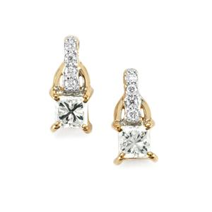 1/2ct Diamond 18K Gold Tomas Rae Earrings