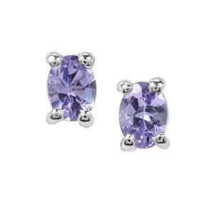 0.36ct Tanzanite Sterling Silver Earrings