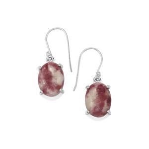 16ct Lepidolite Sterling Silver Aryonna Earrings