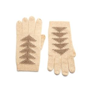 Mongolian Cashmere Jacquard Gloves