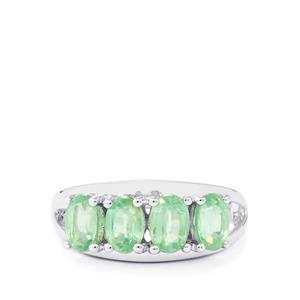 2.37ct Nuagaon Kyanite Sterling Silver Ring