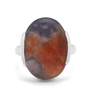 14.50ct Iolite Sunstone Sterling Silver Aryonna Ring
