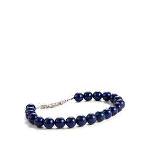 92.95ct Lapis Lazuli Sterling Silver Bracelet