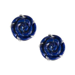49.04ct Lapis Lazuli Sterling Silver Earrings