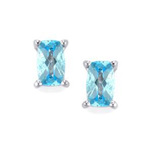 Topaz Earrings in Sterling Silver 0.62ct
