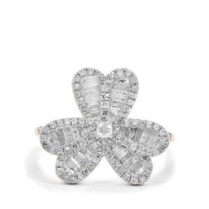 1.12ct Diamond 9K Gold Tomas Rae Ring