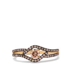 1/2ct Argyle Diamond 18K Gold Ring