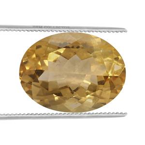 Rio Golden Citrine Loose stone  13.72cts
