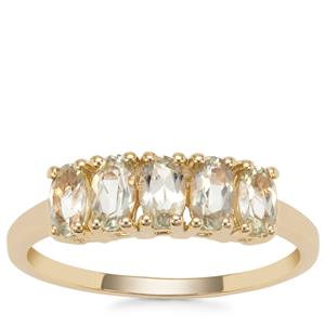 Csarite® Ring in 9K Gold 1.15cts