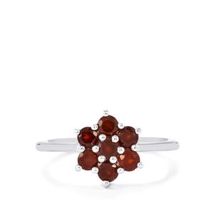 Nampula Garnet Ring in Sterling Silver 1.05cts