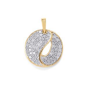 1ct Diamond Two Tone Midas Pendant