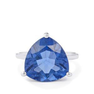 10.66ct Baiyang Colour Change Fluorite Sterling Silver Ring