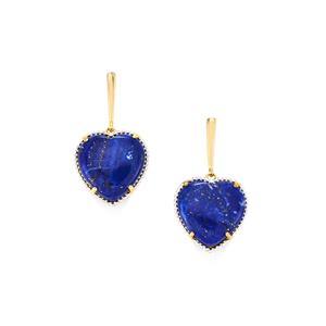 25.29ct Sar-i-Sang Lapis Lazuli Midas Earrings