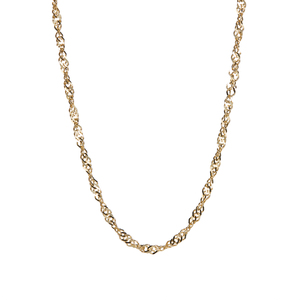"""24"""" 9K Gold Classico Twisted Curb Chain 4.50g"""