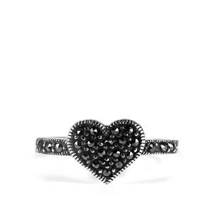 Natural Marcasite Jewels of Valais Ring in Sterling Silver 0.33ct