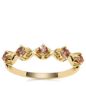 Sopa Andalusite Ring in 9K Gold 0.35ct