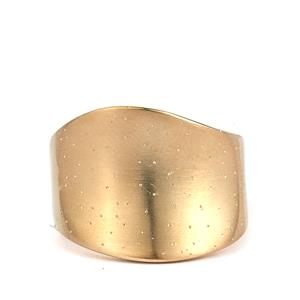 Viorelli Starlight Gold Plated Sterling Silver Ring
