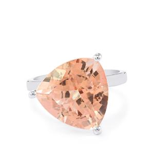 Galileia Topaz Ring in Sterling Silver 11.41cts