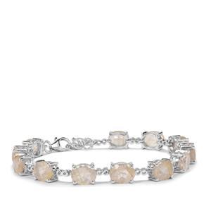 19.44ct Bahia Rutilite Sterling Silver Bracelet