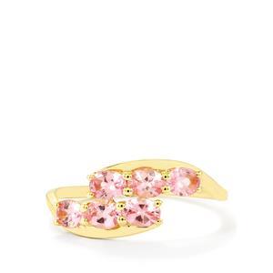 1.10ct Pink Spinel 9K Gold Ring