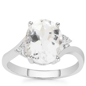 Cullinan & White Topaz Ring in Sterling Silver 4.30cts