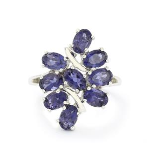 3.14ct Bengal Iolite Sterling Silver Ring