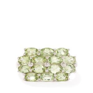 2.84ct Lemanja Amblygonite Sterling Silver Ring