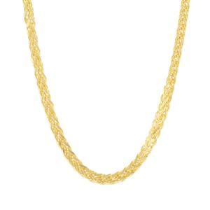 """24"""" Midas Dettaglio Loose Wheat Slider Chain 5.92g"""