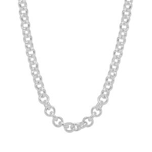 """16"""" Sterling Silver Couture Belcher Chain 4.72g"""