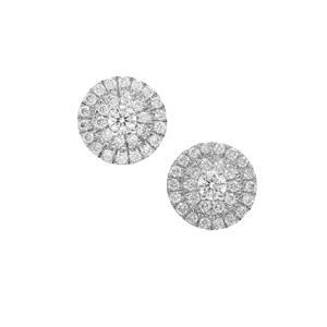 Diamond Earrings in Platinum 950 0.55ct