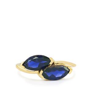 1.71ct Bengal Iolite 9K Gold Ring