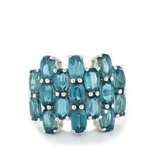 6.01ct Orissa Kyanite Sterling Silver Ring