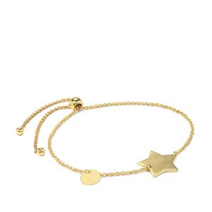 "10"" Midas Altro Star Slider Bracelet 3.05g"
