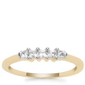 Ratanakiri Zircon Ring in 9K Gold 0.35ct